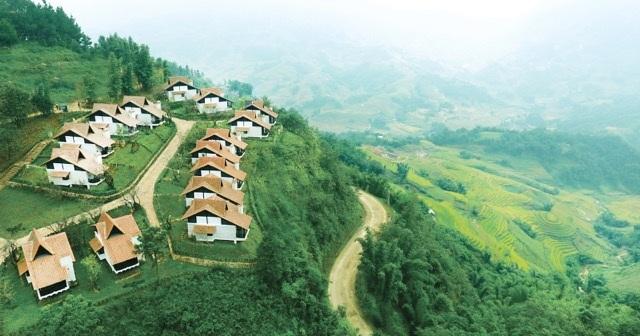 Khu nghỉ dưỡng 5 sao Sapa Jade Hill mang đậm bản sắc dân tộc tại Sapa với tổng vốn đầu tư 2.000 tỷ đồng.