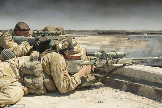 Một thành viên của đội đặc nhiệm SAS của Anh (Ảnh: Getty)
