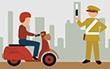 Sát hạch lý thuyết bằng lái xe: Đề số 6 - 1