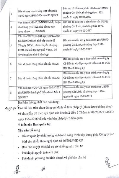 Vì sao chủ đầu tư trì hoãn bàn giao đầy đủ hồ sơ cụm nhà chung cư 229 Phố Vọng? - 6
