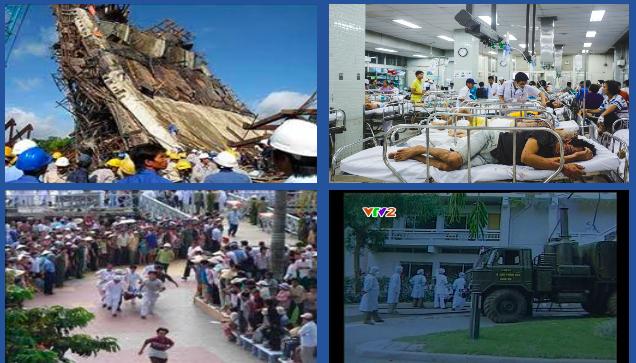 Cấp cứu thảm họa - Có kinh nghiệm nhưng chưa quy củ - 1