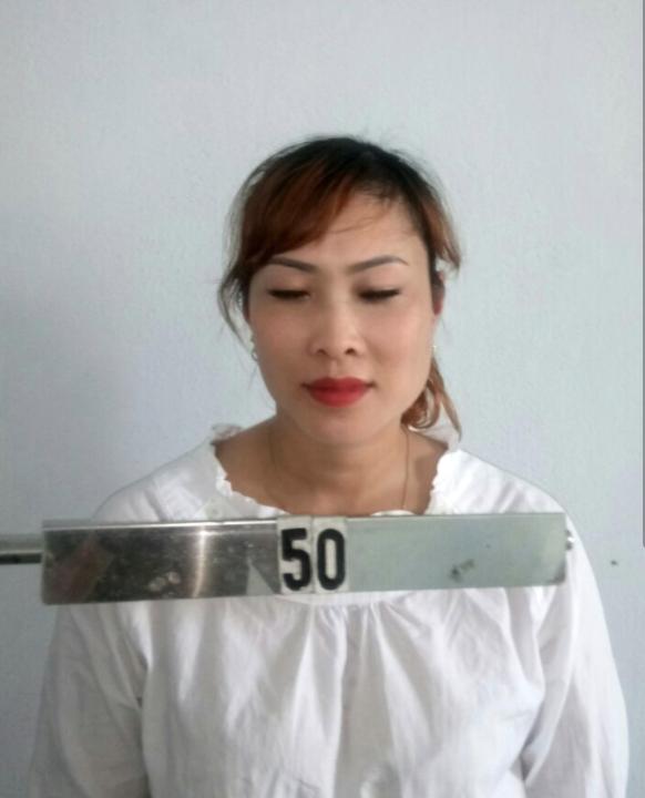 Đối tượng Châu tại cơ quan điều tra