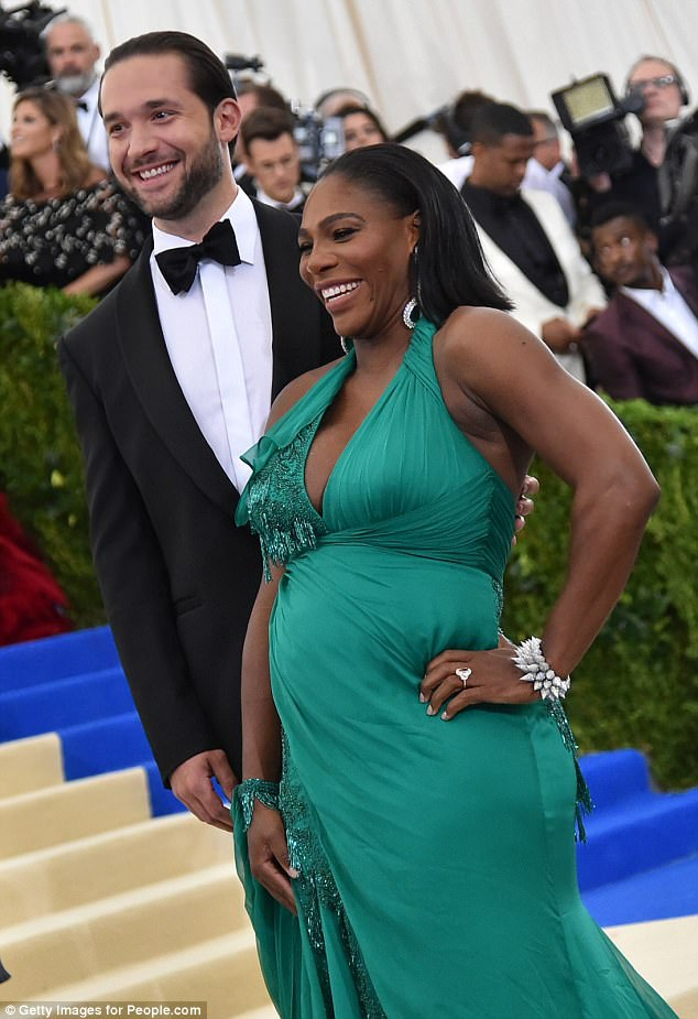 Đây là con đầu lòng của Serena Williams và bạn trai Alexis Ohanian - doanh nhân người Mỹ - người đồng sáng lập tập đoàn Reddit