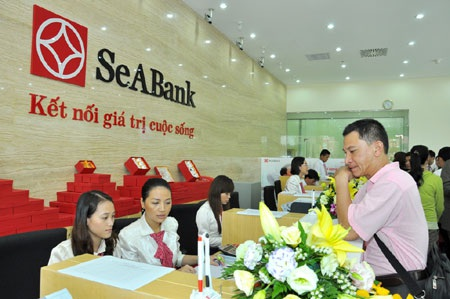 Phòng giao dịch SeABank.
