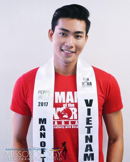 Nguyễn Hữu Long đã rất tích cực chuẩn bị cho cuộc thi này. Ảnh: Missosology.