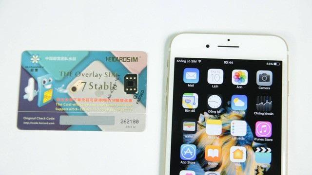 """SIM ghép """"thần thánh"""" lại bị khóa, thị trường iPhone khóa mạng lao đao - 1"""