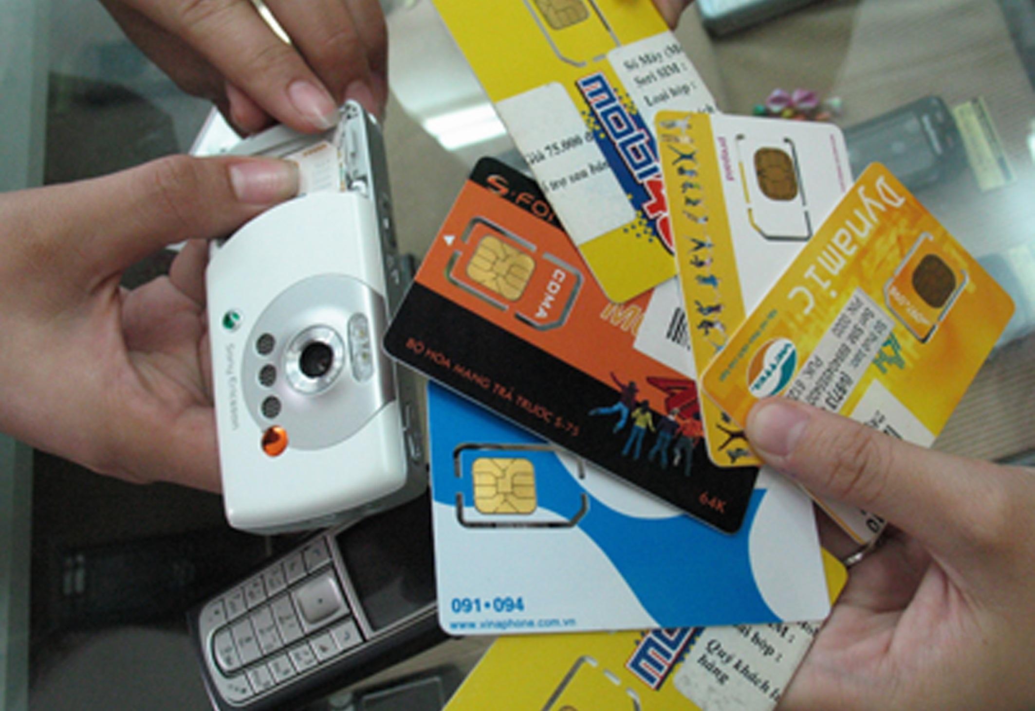 Tự ý bán SIM sẵn sẽ bị phạt từ 30 triệu đồng - 1