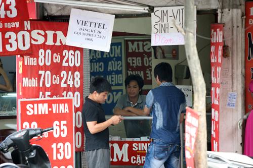 SIM thu hồi không được phép tái sử dụng cho đến khi Bộ có phương án mới.
