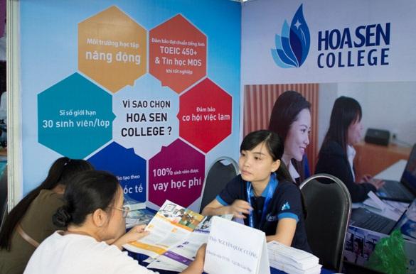 Sinh viên Cao đẳng Hoa Sen dễ dàng thích nghi với những yêu cầu từ thị trường lao động.