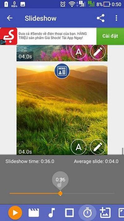 Ứng dụng tạo video trình diễn ảnh với hiệu ứng cực đẹp từ hình ảnh trên smartphone - 6