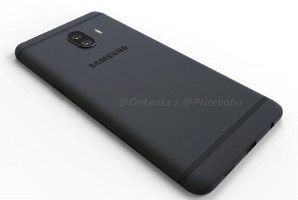 Về tổng thể Galaxy C10 có thiết kế giống Galaxy C9 Pro, nhưng camera được nâng cấp thành 2 ống kính