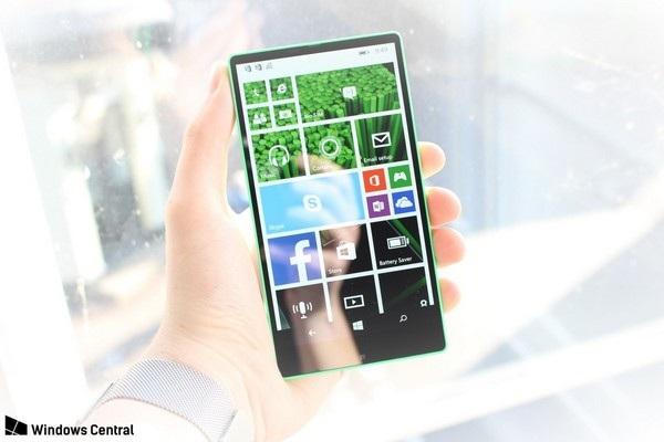 Cận cảnh smartphone không viền màn hình được Microsoft phát triển từ năm 2014 - 1
