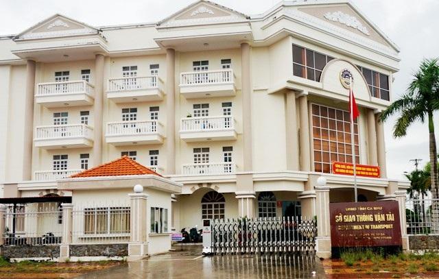 Sở Giao thông vận tải tỉnh Cà Mau- nơi thanh tra phát hiện nhiều sót trong việc thực hiện các giải pháp phòng ngừa và chống tham nhũng từ năm 2014 - 2016.