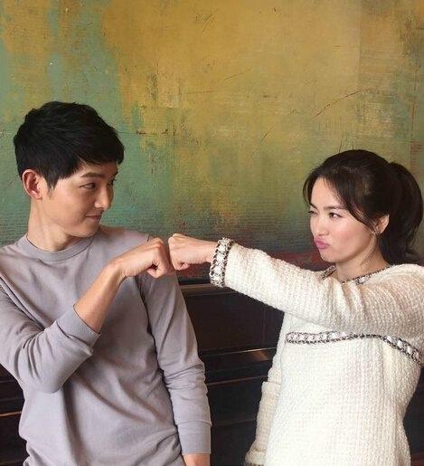 Song Joong Ki muốn gắn bó với Song Hye Kyo tới cuối đời.