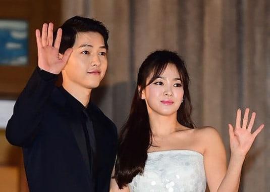 Ngày hôm nay 31/10, Song Hye Kyo và Song Joong Ki tổ chức hôn lễ.