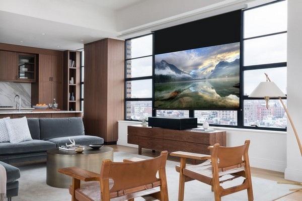 Sản phẩm có thể chiếu nội dung 4K lên màn hình 100-inch ở khoảng cách chỉ 15cm