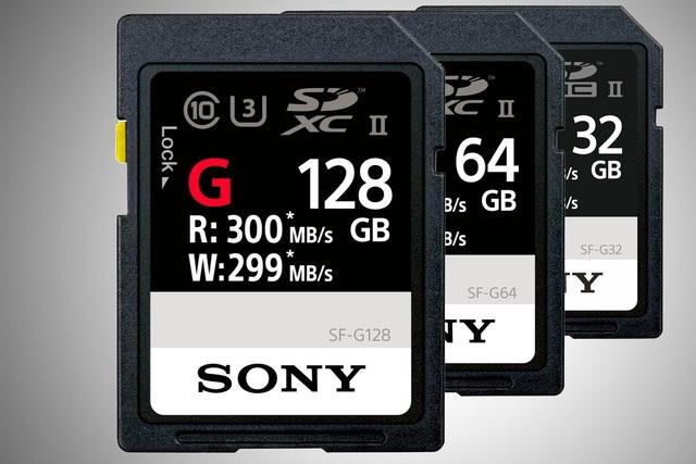"""Sony """"khoe"""" thẻ nhớ SD nhanh nhất thế giới với tốc độ lên đến 300MB/giây - 1"""