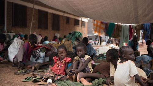 Trẻ em Nam Sudan. Ảnh: AFP.