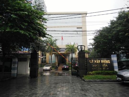 Sở Xây dựng, nơi bà Trần Vũ Quỳnh Anh từng làm việc