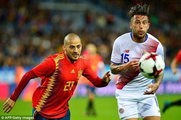 David Silva tỏa sáng với cú đúp ở trận đấu này