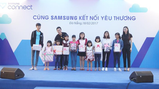 Dự án năm 2016 của Samsung Connect đã hỗ trợ nhiều trẻ em ở các vùng miền khắp Việt Nam.