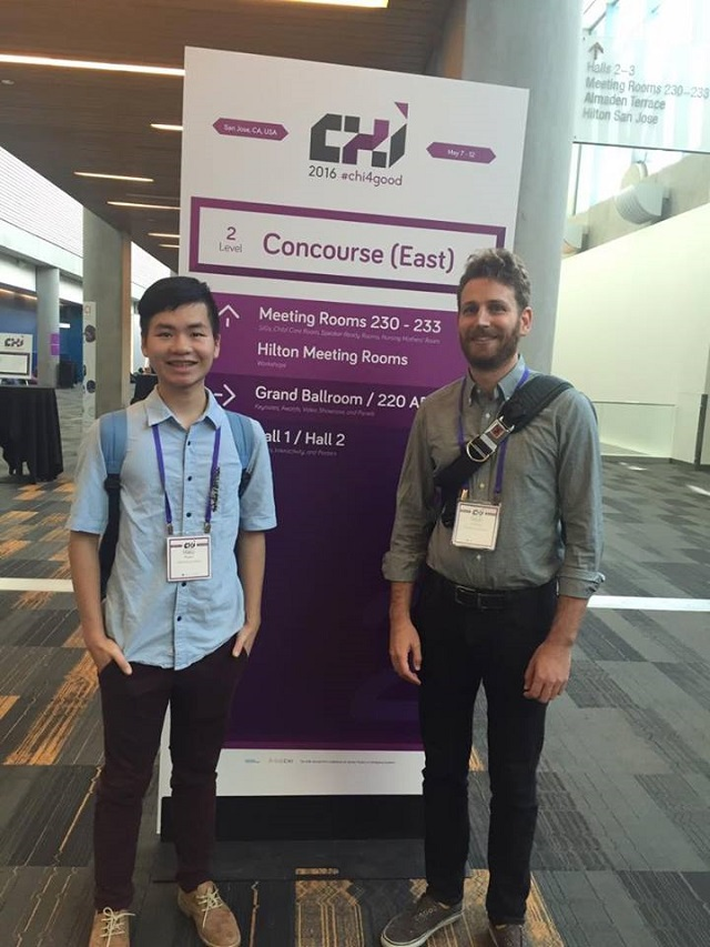 Phạm Minh Hiếu (trái) - tác giả bài viết hiện là sinh viên ĐH Stanford, Hoa Kỳ.
