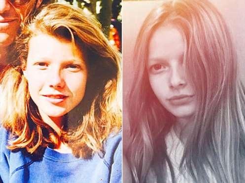 Con gái của Gwyneth Paltrow năm nay 12 tuổi và rất nhiều lần được khen giống hệt mẹ ruột.