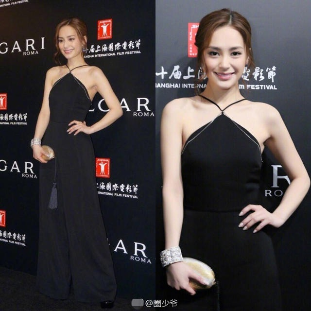 Chung Hân Đồng cũng là khách mời tại sự kiện.