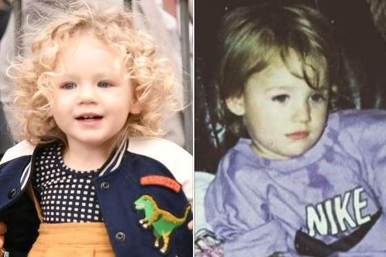 Một trong những ngôi sao gợi cảm nhất thế giới - Blake Lively luôn tự hào vì cậu con trai 2 tuổi - James Reynonlds rất giống cô khi bé. Cậu nhóc có đôi mắt xanh và một chút thần thái của cha ruột, Ryan Reynolds.