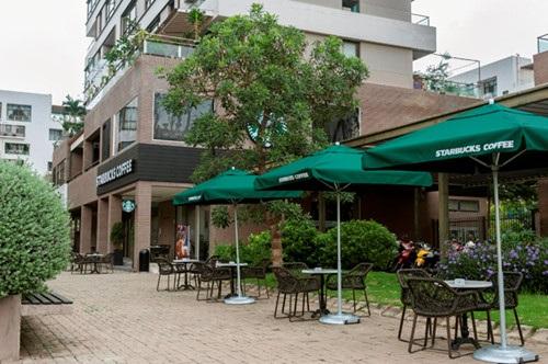 Khu phố Panorama là lựa chọn đầu tiên của thương hiệu Starbucks khi quyết định mở rộng thị trường sang khu vực Phú Mỹ Hưng