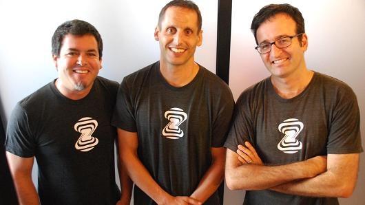Những nhà sáng lập của startup Zebra Medical Vision. (Nguồn: CNBC)