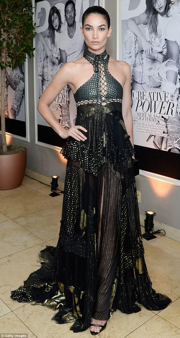 Lily Aldridge - siêu mẫu Victorias Secret 32 tuổi cũng không kém phần lôi cuốn