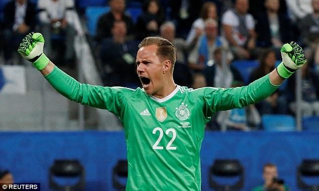Ter Stegen chơi xuất sắc trong trận chung kết