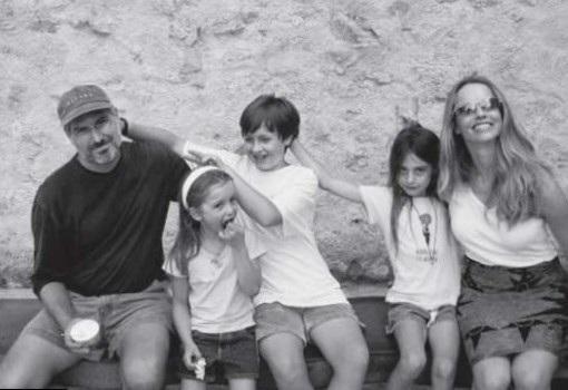 Gia đình Steve Jobs.