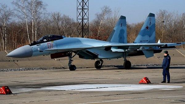 Máy bay chiến đấu Su-35 (Ảnh: Cyplive)