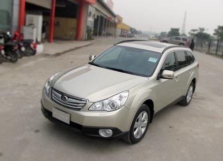 Mẫu Subaru Outback 2011 tại Việt Nam