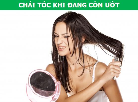 Những thói quen thường gặp ở người Việt khiến tóc dễ bị hư tổn - 1