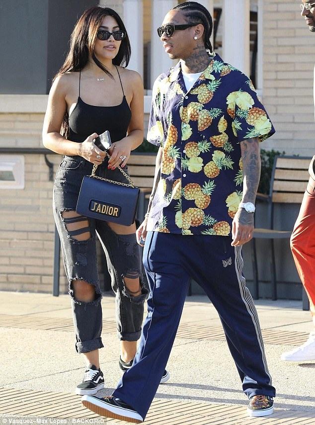 Tyga sau khi chia tay Kylie dường như đã nhanh chóng có tình yêu mới