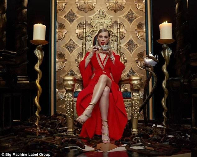 MV được cho là cơ hội Taylor mỉa mai người cũ Calvin Harris, cô Kim hay Katy Perry...