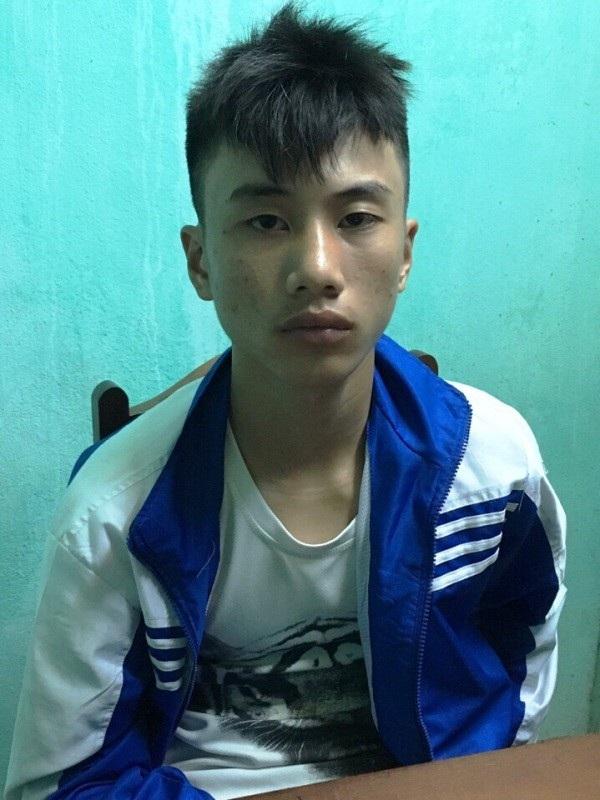 Đối tượng Nguyễn Thế Tài bị bắt giữ sau khi gây án