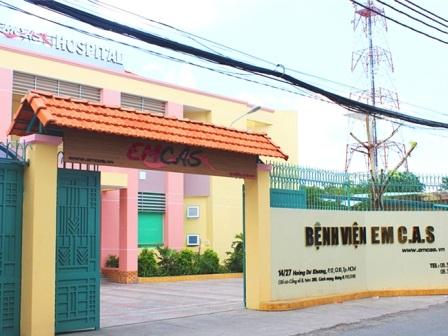 Bệnh viện Thẩm mỹ Emcas nơi xảy ra vụ việc