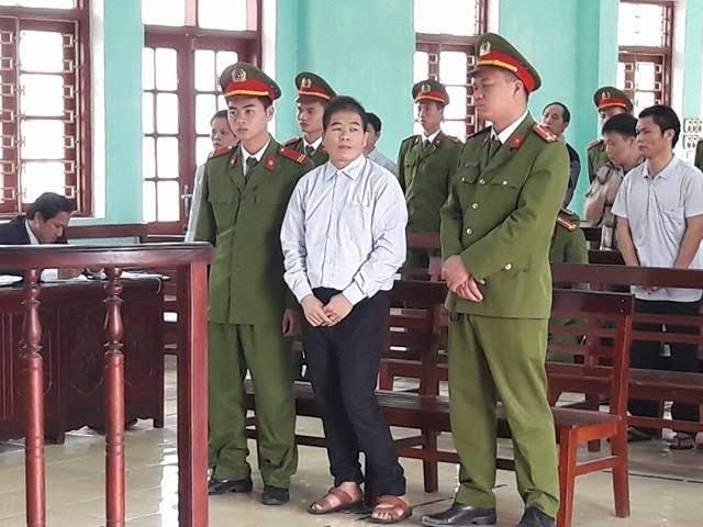 Trùm ma túy Tàng Keangnam tại phiên xét xử
