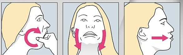 Minh họa cho Bài tập thư giãn hàm, nâng cơ cổ, làm đầy môi