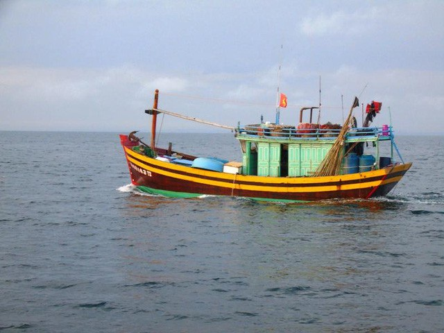 Tàu cá của ngư dân Quảng Bình (Ảnh minh họa)
