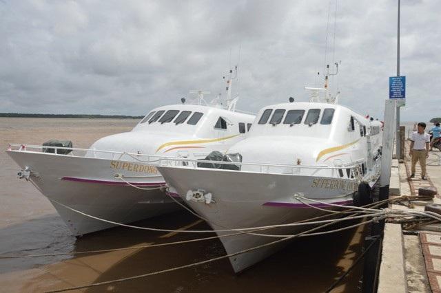 Nhiều tàu, thuyền ở Sóc Trăng đã được neo đậu chắc chắn trước cơn bão số 16. (Ảnh: Bạch Dương)