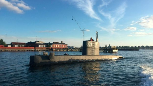 Tàu ngầm Nautilus (Ảnh: EPA)
