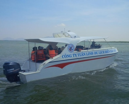 Một chiếc tàu chở khách được sản xuất bằng vật liệu PPC.