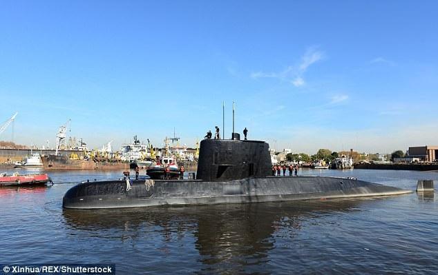 Tàu ngầm ARA San Juan (Ảnh: Tân Hoa Xã)