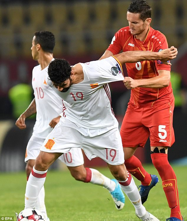 Diego Costa đang giữ được phong độ ghi bàn đều đặn