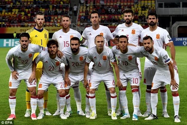 Tây Ban Nha hành quân đến Philip Arena với quyết tâm chiến thắng